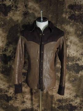 (定価209000)バックラッシュ・イタリアンオイルショルダーシャツ