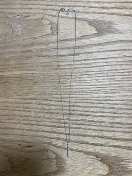 4C pt850 プラチナ ネックレス トップ付き 中古品