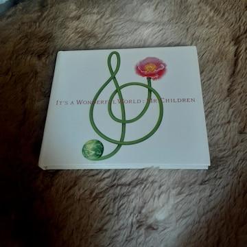 ミスターチルドレン/ イッツアワンダフルワールド CD アルバム