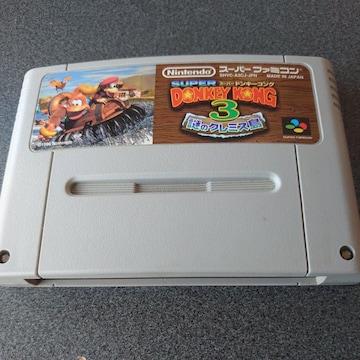 SFC!スーパードンキーコング3!謎のクレミス島!ソフト!