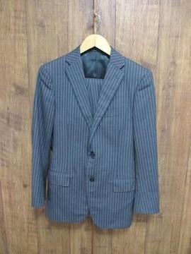 ☆ユナイテッドアローズ 太ストライプ セットアップ スーツ/メンズ/44/76