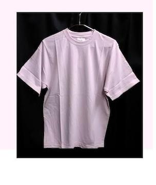 セール新品送込★着回し抜群ストリートピンクTシャツ♪シンプル無地★M