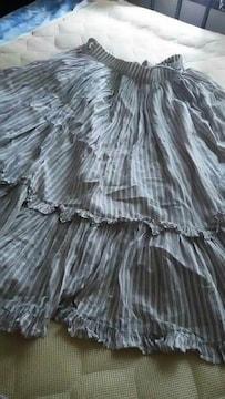 ふんわり姫系フレアースカート