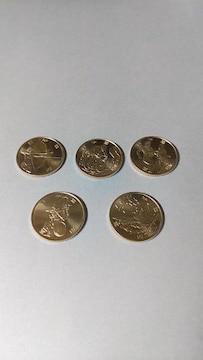 東京オリンピック・パラリンピック100円3次クラッド貨5種
