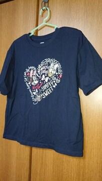 【UNIQLO】Tシャツ*ミニー&デイジー*コラボ*ネイビー*M