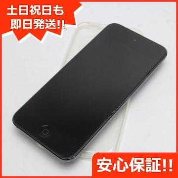保証●新品同様●iPod touch 第6世代 16GB スペースグレイ