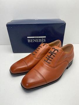 X127 ベネビス 革靴 ビジネスシューズ 本革 26 1/2 EEE