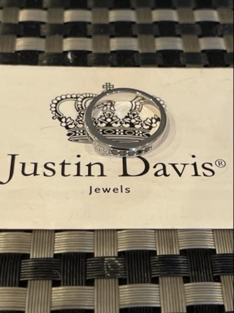 新品◆JUSTIN DAVIS◆LOVABLE RING◆15号◆クラウンリング◆ < ブランドの
