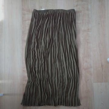 シフォンプリーツスカート L