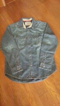 GAP*デニム ダンガリーシャツ*160