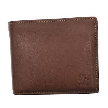 ◆新品本物◆イルビゾンテ 2つ折財布(BR)『SBW023』◆