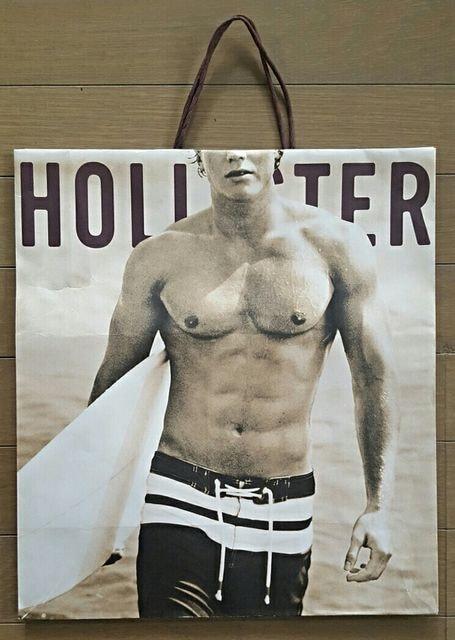 【ホリスター★ショップ袋】アメリカ#HOLLISTER#紙袋#プレゼント  < ブランドの