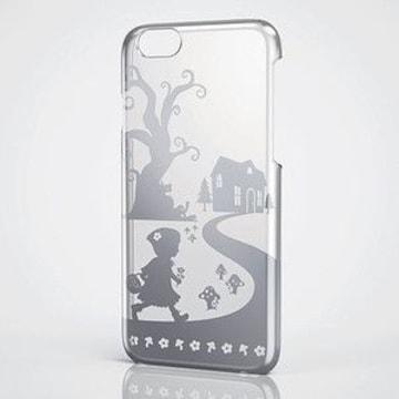 ☆ELECOM iPhone6 6s 対応 シェルカバー 赤ずきん