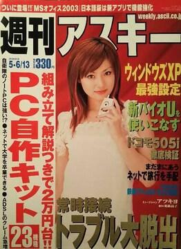深田恭子・原史奈【週刊アスキー】2003年5月6日-13日号