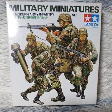 タミヤ1/35  アメリカ現用陸軍歩兵セット
