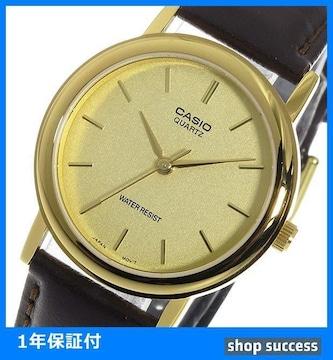 新品 即買い■カシオ メンズ 腕時計 MTP-1095Q-9A ゴールド