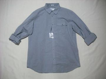 fy921 男 CK CALVIN KLEIN カルバンクライン チェックシャツ M