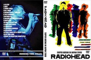 ≪送料無料≫RADIOHEAD JAPAN TOUR 2008 レディオヘッド