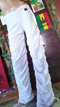 カッコイイ(*^-^)JD†シャーリング裾絞付パンツ*ウェッサイB系