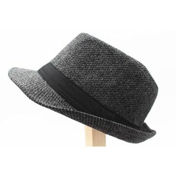送料無料フェドーラハット 中折れ帽子キャップ FC6-1