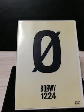 BOOWY 1224 ミュージックDVD 曲目画像掲載 送料無料