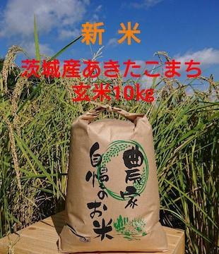 茨城令和3年産新米あきたこまち玄米10�s