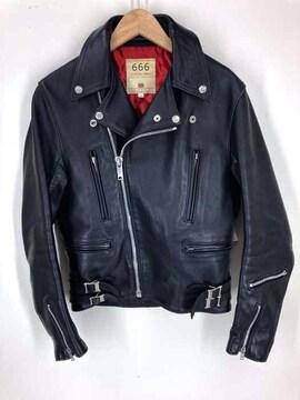 666 Leather Wear(トリプルシックスレザーウェア)イングランド製レザージャケットレザージ