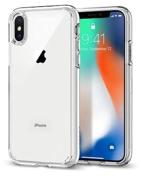 iPhone X ケース クリスタル・クリア