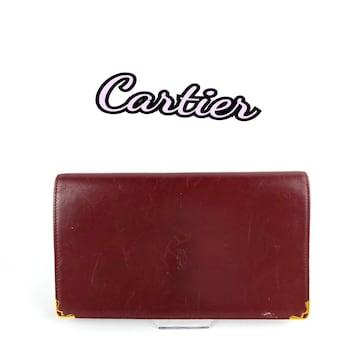 Cartier カルティエ がま口 財布
