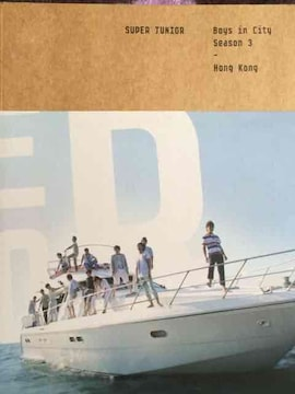 激安!激レア!☆SUPERJUNIOR/Boys in City☆韓国限定DVD付!超美品