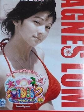 【パチンコ 大海物語2 With アグネス・ラム(甘)】小冊子