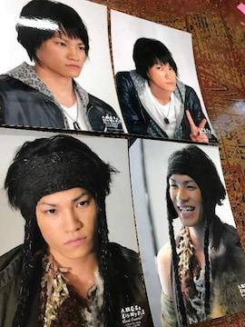 Kis-My-Ft2 キスマイ【二階堂高嗣】写真 4枚セット