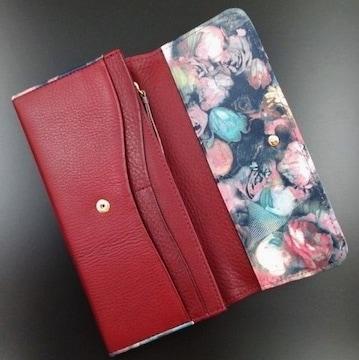 贈り物に☆新品/箱付 ポールスミス 花柄デザイン 長財布 n230