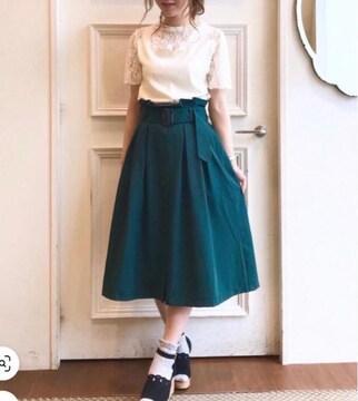 切手可 マジェスティックレゴン  フレアスカート  スカート