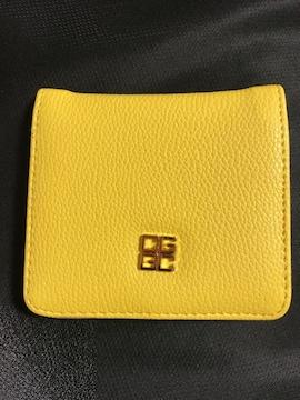 財布 ウォレット 二つ折り イエロー 風水 コンパクト シンプル キャッシュレス CARD