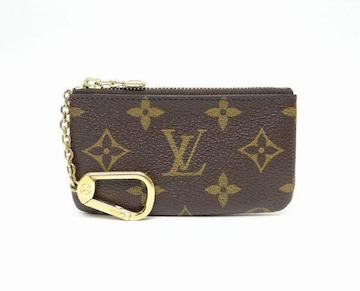 LOUIS VUITTON ルイヴィトン モノグラム ポシェット・クレ コインケース【送料無料】