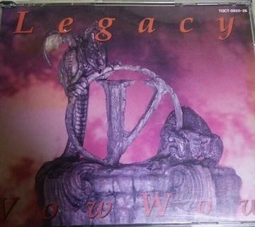 2枚組CD VowWow Legacy ジャパメタ 帯無し