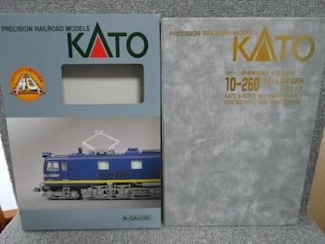 KATO「10-260 EF58試験塗装機4両セット」60