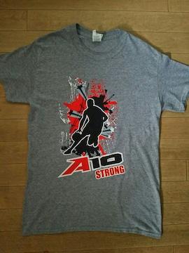 GILDAN 両面Tシャツ 生産国不明 S