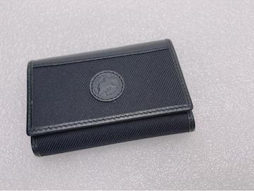 D475 美品★ ハンティングワールド 6連キーケース ブラック
