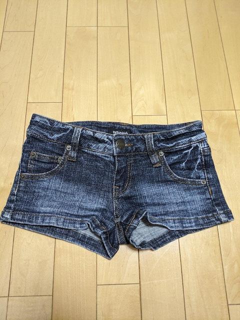 navana デニム レディース ショートパンツサイズ S  < 女性ファッションの