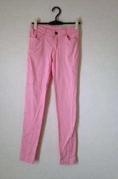 Gladys◆ピンク ストレッチ スキニー レギパン  パンツ M