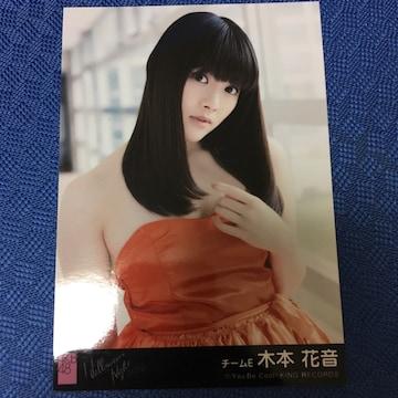 SKE48 木本花音 ハロウィンナイト 生写真 AKB48