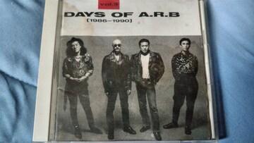 ARB DAYS OF A.R.B VOL.3 86-90 ベスト 難あり