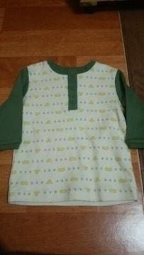 ★ 未使用 カワイイ シャツ サイズ70 子供用 涼しげ●