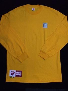 セール!新品送込NESTA BRANDネスタブランド★ロングTシャツ★イエローLストリートレゲエ