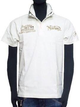 新品正規NortonノートンリゾートポロシャツホワイトM