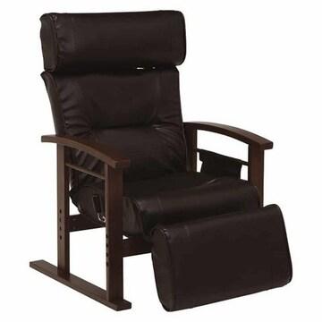 高座椅子(ブラック) LZ-4758BK