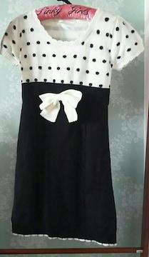 トゥララ リズリサ ドット ニットワンピ 未使用