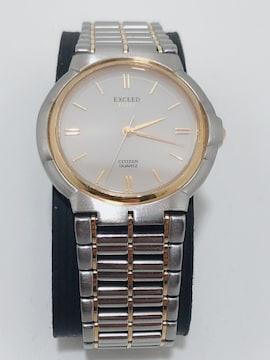 T206 CITIZEN シチズン エクシード メンズ クォーツ 腕時計